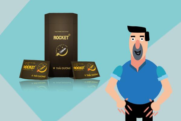 Rocket 1h là sản phẩm quen mặt trên thị trường