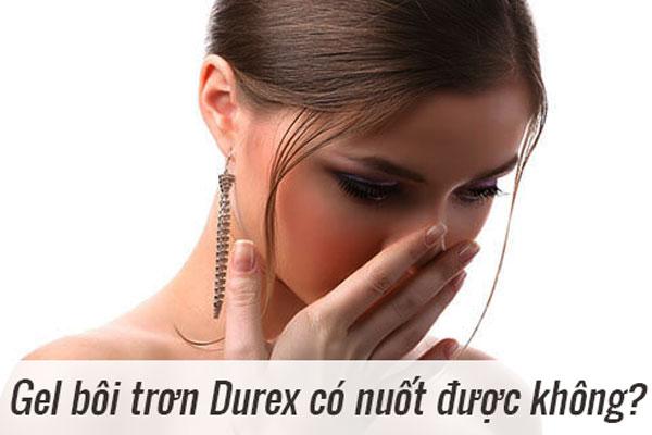 Gel bôi trơn Durex
