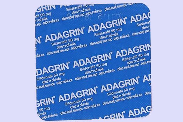 Nguồn gốc của Adagrin 50mg