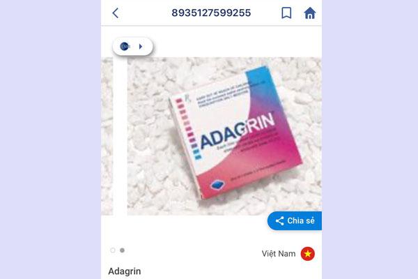 Adagrin 50mg có tốt không?