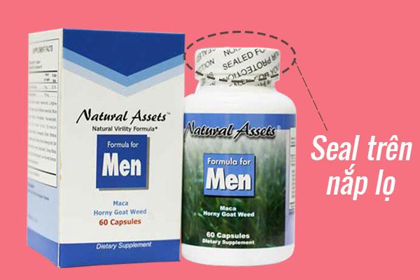 Phân biệt Formula For Men thật giả