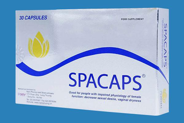 Spacaps là thuốc gì?