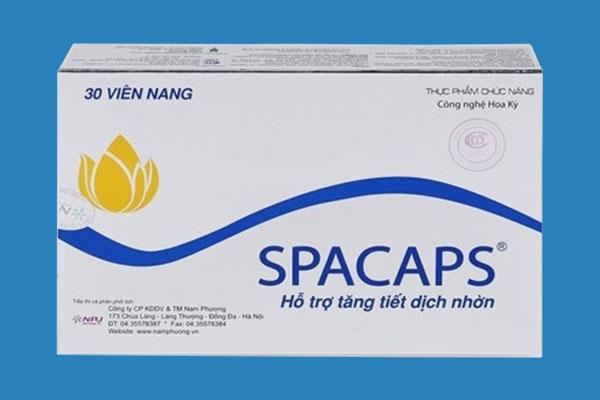 Cách sử dụng viên uống Spacaps