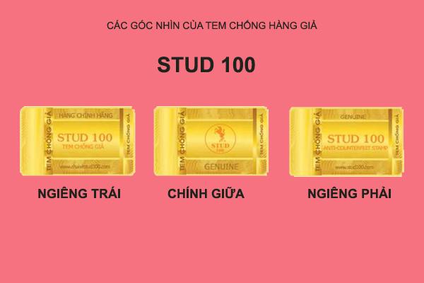Phân biệt Stud 100 hàng giả