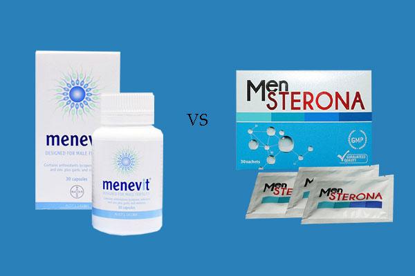 So sánh Mensterona và Menevit
