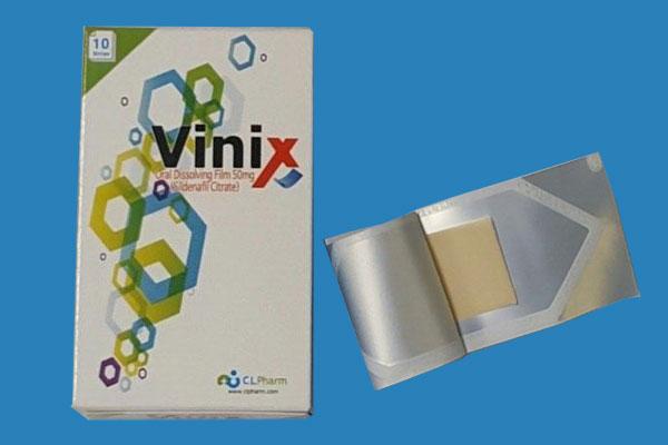 Các loại tem ngậm Vinix