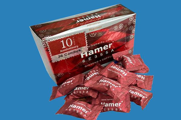 Kẹo sâm Hamer là gì?