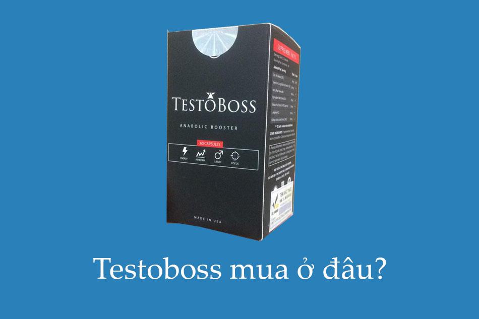 Mua Testoboss ở đâu?
