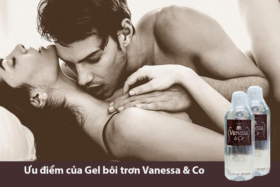 Ưu điểm của Gel bôi trơn Vanessa
