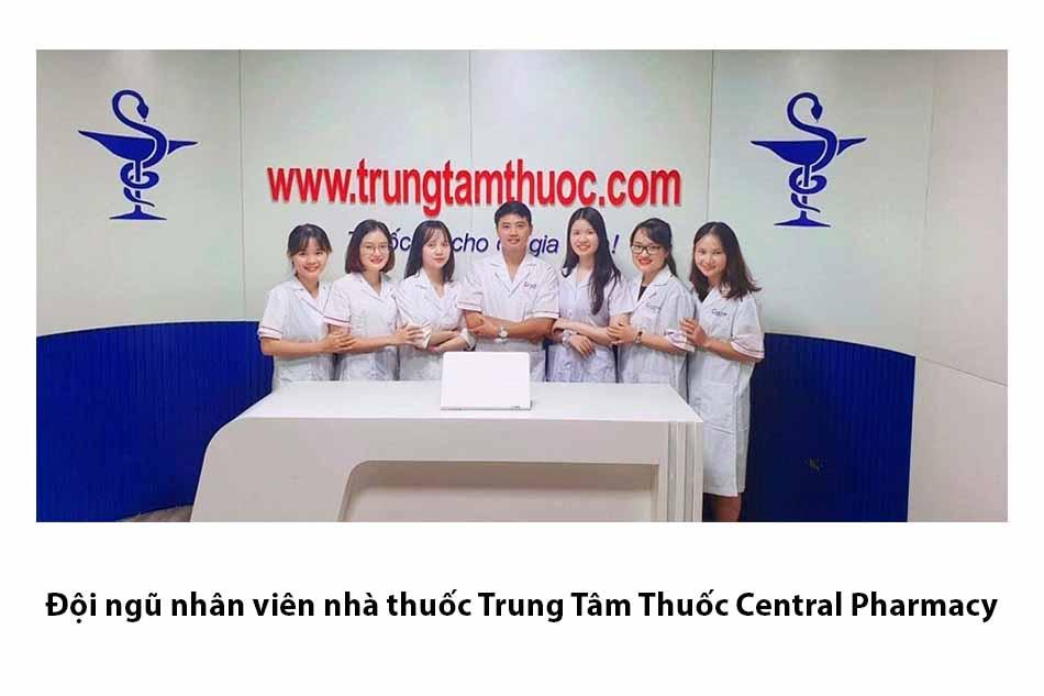 Đội ngũ nhân viên nhà thuốc Trung Tâm Thuốc Central Pharmacy