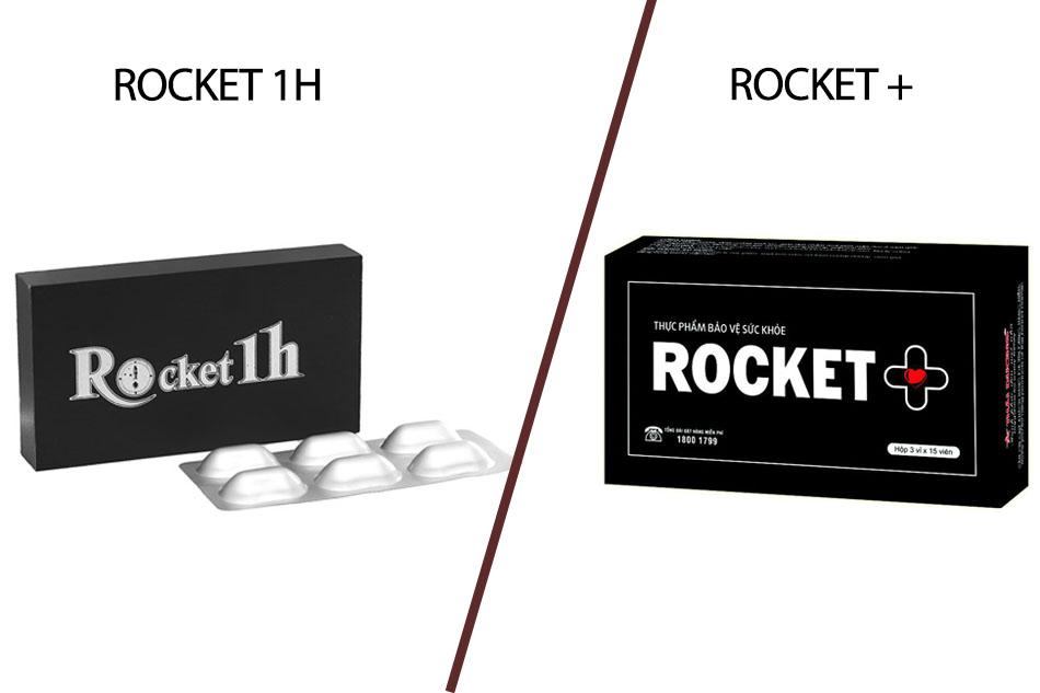 Sự khác nhau giữa Rocket 1h và Rocket +