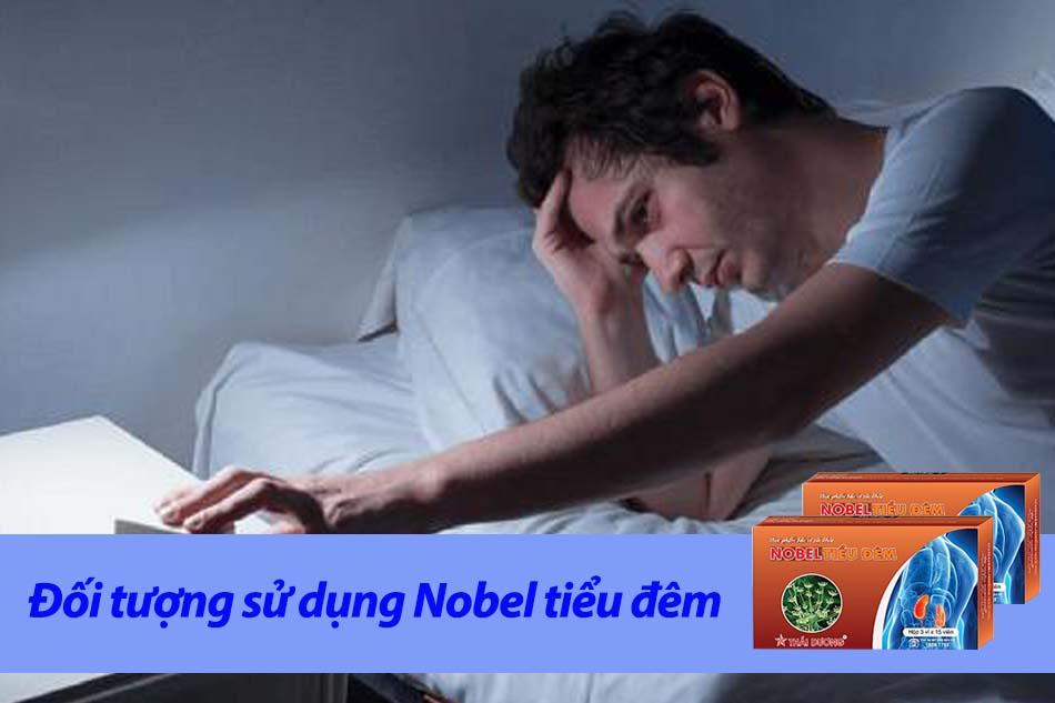 Đối tượng sử dụng Nobel tiểu đêm