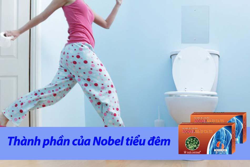 Thành phần của Nobel tiểu đêmThành phần của Nobel tiểu đêm